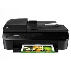 HP Officejet 4635 USB 2.0/WiFi-N All-in-One Color Inkjet Printer Scanner Copier Fax Photo Printer (No Ink)