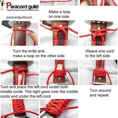 Here is a quick wrap tutorial from #ParacordGuild. I don't think theu have an instgram account if they do please le me know so I can link back to it! by wildernesgal