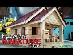 Comment faire une MINI Tree House à la maison | Popsicle Sticks Accueil - YouTube