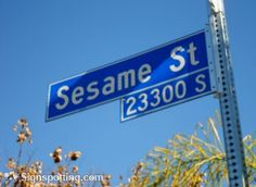 I want to live on Sesame Street!