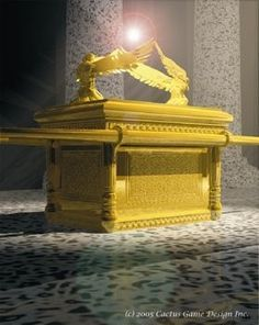 Ark of the Covenant: the holy of holies. It could be in either Damascus, Ethiopia, or under the Dome of the Rock