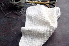 Opskrifter på karklude, strikkede og hæklede karklude Crochet Home, Knit Crochet, Chrochet, Washing Clothes, Baby Knitting, Winter Hats, Accessories, Cloths, Napkins