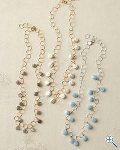 in2 design Elsa Stone Chain Necklace