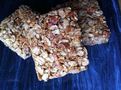 May I share with you the best crunchy granola bar recipe ever?