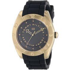 Tommy Hilfiger Analog Quartz Black Watch $87