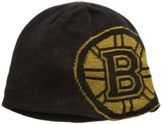 NHL Game Day Reversible Knit Hat, Boston Bruins, One Size Fits All Reebok. Save 40 Off!. $10.17