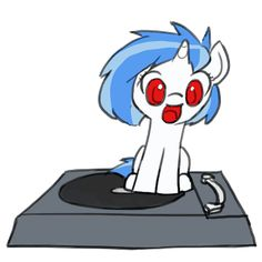 GIF /// http://mlp.wikia.com/wiki/File:FANMADE_DJ-PON3_spinning_on_Vinyl_Turn_Table.gif