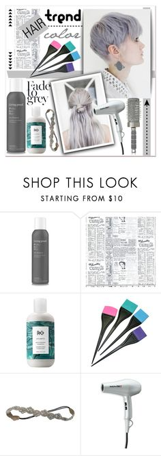 """Hair trend color."" by patria ❤ liked on Polyvore featuring beauty, Living Proof, Classified, R+Co, Deepa Gurnani, BaByliss Pro, T3, Beauty and hair"