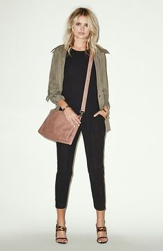 Love the jacket and bag