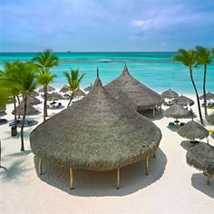Hyatt Aruba, we stayed at the suites and went to the private beach, loved it!
