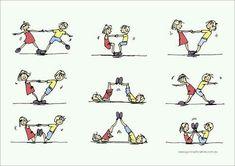 Bilderesultater for gymnastics partner balance activities