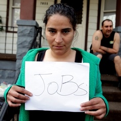 Melinda Gonzalez  31, Unemployed  Biggest problem: No jobs.  #FixDetroit