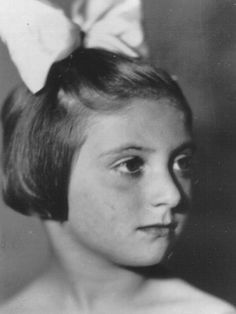 (08/10/1935) Slovakia (May,1945) sadly perished from typhus while imprisoned at Bergen-Belsen camp 9 years old
