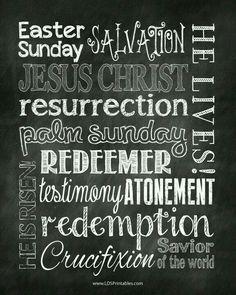 Easter Christian poster