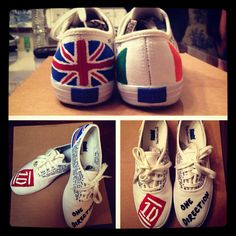 1D Shoes that I made!