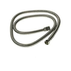 Rohl 16295 Flexible Metal Hose Assembly Product Features: Stainless steel outer flexible hoseDouble spiralPVC liningDoes not warp or female connectionsCovered under Rohl's limited war Part Satin Nickel Chrome Colour, Brass Color, Flexible Metal Hose, Quartz Vanity Tops, Black Toilet, Shower Wall Panels, Shower Accessories, Shower Hose, Polished Nickel