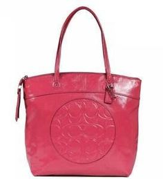 Brand New Gorgeous #Coach Laura Crinkle Patent Leather tote in pomegranate. Coach Style #18900. SV/ZJ. Purchased from a Coach Boutique. INCLUDES: Original tags a...