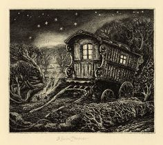 'The Plough' by Robin Tanner (etching) Black And White Drawing, Wood Engraving, Cool Art, Fun Art, Painting On Wood, Vintage Posters, Printmaking, Illustrators, Fantasy Art