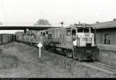 RailPictures.Net Photo: L&N 2739 Louisville & Nashville GE U23B at Opelika, Alabama by David Harris