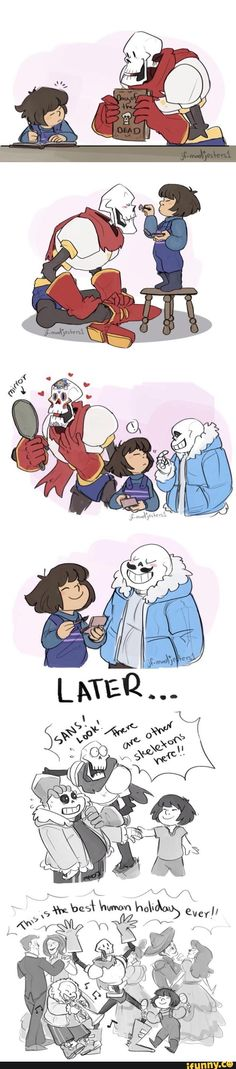 cute, sans, undertale, papyrus, day of the dead