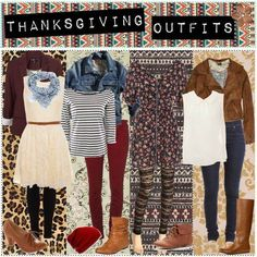Thanksgiving Outfits Pictures