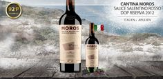 Cantina Moros Rosso DOP Riserva - der Newcomer im Veronelli Guide - http://weinblog.belvini.de/cantina-moros-rosso-dop-riserva