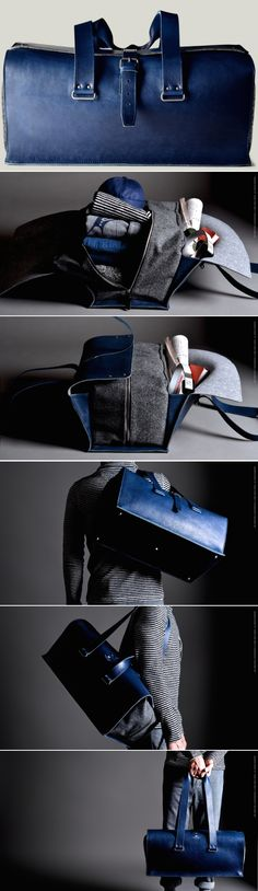 #hardgraft 1st Edition Travel Bag / Ocean  http://www.womenswatchhouse.com/