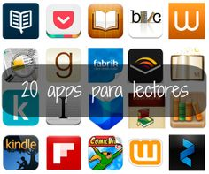 20 apps para lectores - Apps for readers