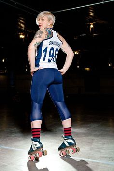 Roller derby booty! - I can't wait until my tush looks like that!