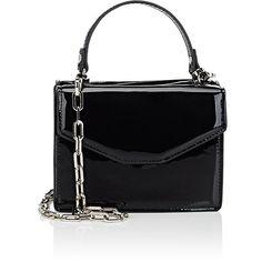 Deux Lux Women's Mini Satchel ($69) ❤ liked on Polyvore featuring bags, handbags, black, chain strap purse, mini satchel handbags, mini satchels, flat purse and deux lux purse