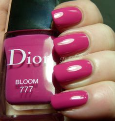 Dior Bloom 777, Bouquet 457 and Perlé 187 - from the Dior Trianon Collection for Spring 2014 | Pointless Cafe