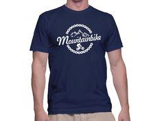 Tricou Capital T Mountainbike Navy Blue Capital T, Mens Tops, T Shirt, Fashion, Supreme T Shirt, Moda, Tee Shirt, Fashion Styles, Fashion Illustrations