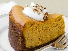 Organic Pumpkin Cheesecake Recipe http://wholelifestylenutrition.com/recipes/dessert/pumpkin-cheesecake-organic-recipe/