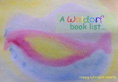 A Waldorf book list, Waldorf books, Waldorf parenting books