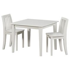 """Solutions by Kids R Us Table and Chair Set - White - Solutions by Kids 'R' Us - Toys """"R"""" Us $99"""