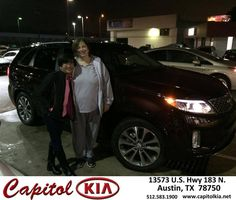 https://flic.kr/p/F5YJqy | Happy Anniversary to Vicki on your #Kia #Sorento from Brian Dean at Capitol Kia! | deliverymaxx.com/DealerReviews.aspx?DealerCode=RXQC