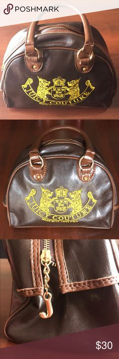💝💕Cute Juicy Couture brown purse. 💕💝 In like new condition. Juicy Couture Bags