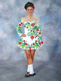 Exclusive and unique Irish dancing dresses by Elevation Design. The Elevation brand is one which is known worldwide in the Irish dance community. Irish Step Dancing, Irish Dance, Next Dresses, Dance Dresses, At Home Workout Plan, Latest Pics, Dance Costumes, Montreal, Harajuku
