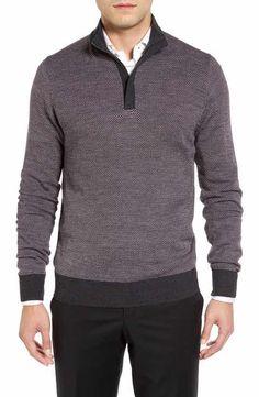 Toscano Half Zip Pullover