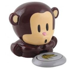 Amazon Daily Deal niceEshop Mini Cute Monkey Blower Nail Polish Dryer Beauty Care-Brown $4.59 Free Shipping