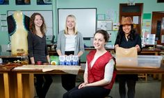 Queen Elizabeth II High School 'Grow Your Own Clothes' – Clothes made out of fungus!