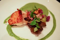 Seared Monkfish at Paley's Place