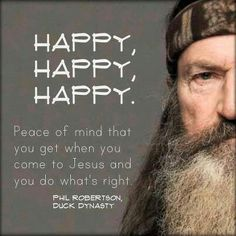 Duck Dynasty ~ Phil Robertson