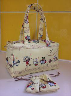 Mini purse with a drawstring bag
