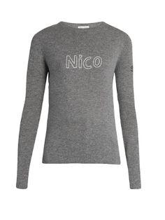 Nico cashmere sweater | Bella Freud
