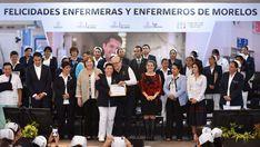 RECONOCE EL GOBERNADOR GRACO RAMÍREZ EL COMPROMISO Y SOLIDARIDAD DE LAS ENFERMERAS
