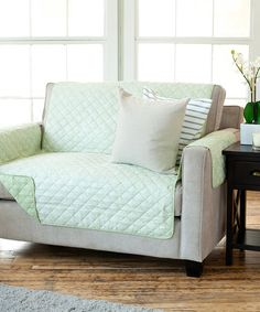 Look what I found on #zulily! Green Reversible Furniture Protector #zulilyfinds