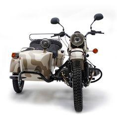 2012 Gobi Desert Camo Gear-Up  URAL motorcycle