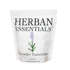 Made with antibacterial, antifungal, antiviral lavender essential oils, these individually-wrapped wipes treat breakouts, soothe cuts and burns (including...