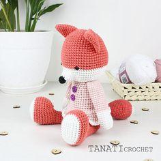 Crochet pattern Fox  Pattern available in:  English (US crochet terms)  Russian    #amigurumi #crochet #crocheted #crocheting #crochetlove #crochetaddict #crochetersofinstagram #toy #toys #handmade #handmadebyme #handmadewithlove #yarn #амигуруми #вязание #cute #adorable #örgü #ganchillo #virka #crochetdoll #amigurumipattern #etsy #etsyAU #freecrochetpattern #amiguru_mi #weamiguru #crochetfox #tanaticrochet